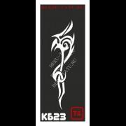 Трафарет Кельтский узор - КБ23