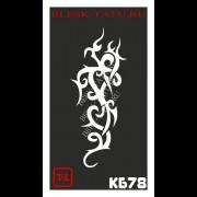 Трафарет Кельтский узор - КБ78