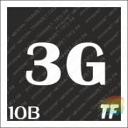 """Трафарет 10В """"3G вид 2"""""""