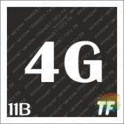"""Трафарет 11В """"4G вид 2"""""""