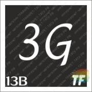 """Трафарет 13В """"3G вид 3"""""""
