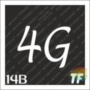 """Трафарет 14В """"4G вид 3"""""""