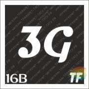 """Трафарет 16В """"3G вид 4"""""""