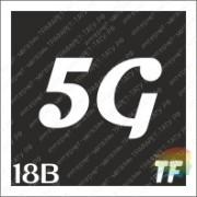 """Трафарет 18В """"5G вид 4"""""""