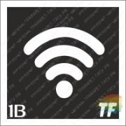 "Трафарет 1В ""Wi-Fi"""