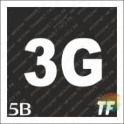 """Трафарет 5В """"3G"""""""