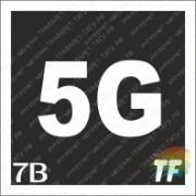 """Трафарет 7В """"5G"""""""