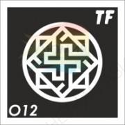 """Трафарет О12 - """"ВАЛЬКИРИЯ"""""""