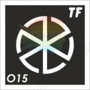 """Трафарет О15 - """"ГРОЗОВИК"""""""