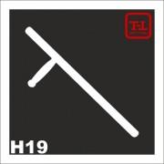 Трафарет Оружие Н19