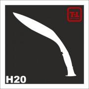 Трафарет Нож Н20