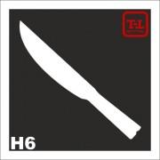 Трафарет Нож Н6