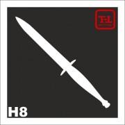 Трафарет Нож Н8