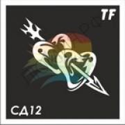 Трафарет СД12