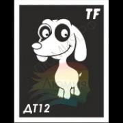 Трафарет ДТ12