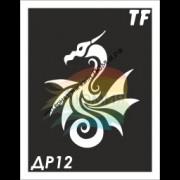 Трафарет Дракон ДР12