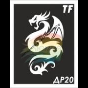 Трафарет Дракон ДР20