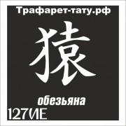 Трафарет 127ИЕ - Обезьяна