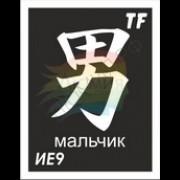 """Трафарет ИЕ9 """"МАЛЬЧИК"""""""