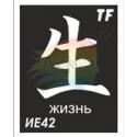 """Трафарет ИЕ42 """"ЖИЗНЬ"""""""