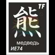 """Трафарет ИЕ74 """"МЕДВЕДЬ"""""""