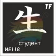 """Трафарет ИЕ118 """"СТУДЕНТ"""""""