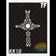 """Трафарет КК10 """"КЕЛЬТСКИЙ КРЕСТ"""""""