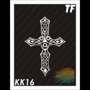 """Трафарет КК16 """"КЕЛЬТСКИЙ КРЕСТ"""""""
