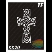 """Трафарет КК20 """"КЕЛЬТСКИЙ КРЕСТ"""""""