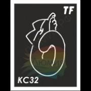 Трафарет КС32