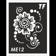Трафарет МЕ12