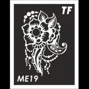 Трафарет МЕ19