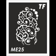 Трафарет МЕ25