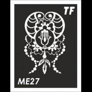 Трафарет МЕ27