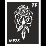 Трафарет МЕ28