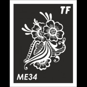 Трафарет МЕ34