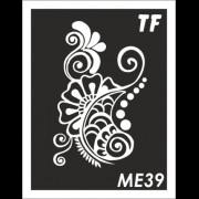 Трафарет МЕ39