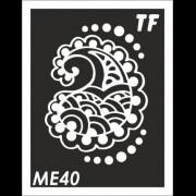 Трафарет МЕ40