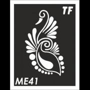 Трафарет МЕ41