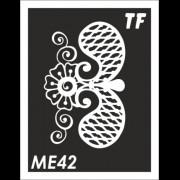Трафарет МЕ42