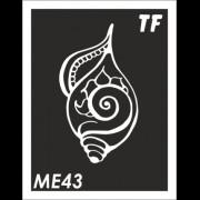 Трафарет МЕ43