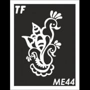 Трафарет МЕ44