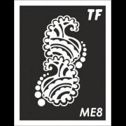 Трафарет МЕ8