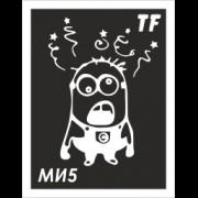 Трафарет МИ5