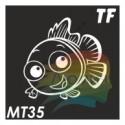 Трафарет МТ35 «Весёлая Рыбка»
