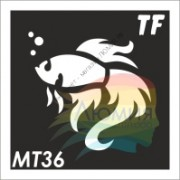 Трафарет МТ36 «Золотая Рыбка»