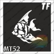 """Трафарет МТ52  """"РЫБА"""""""