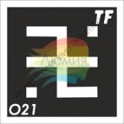 """Трафарет О21 - """"ОГНЕВИЦА"""""""
