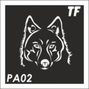 Трафарет РА02