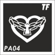 Трафарет РА04